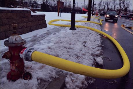 Large Diameter Economical Supply Hose & Hi-Vol II | Angus Fire US